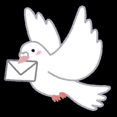 手紙のやり取りイメージ